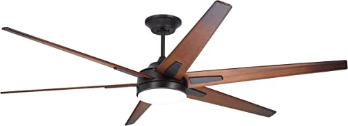 Emerson CF915W72ORB 72-inch Modern Rah Eco Ceiling Fan, 6-Blade Ceiling Fan with LED Lighting and 6-Speed Wall Control