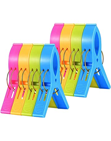 36PK Plastic Jumbo Pegs Clothes Strong Washing Drying Clothes Laundry