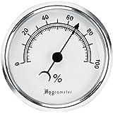 Lockdown Vault Hygrometer Silver, 4.5 Inch x 1.25 Inch x 7.25 Inch