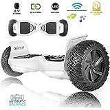 """XPRIT 8.5"""" Wheel Hoverboard w/Bluetooth Speaker - All Terrain(UL2272 Certified)"""