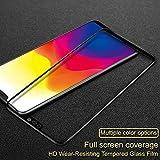 VIMES Full Glue Vivo V9 5D Tempered Glass, Full Edge-to-Edge 5D Screen Protector (Black)