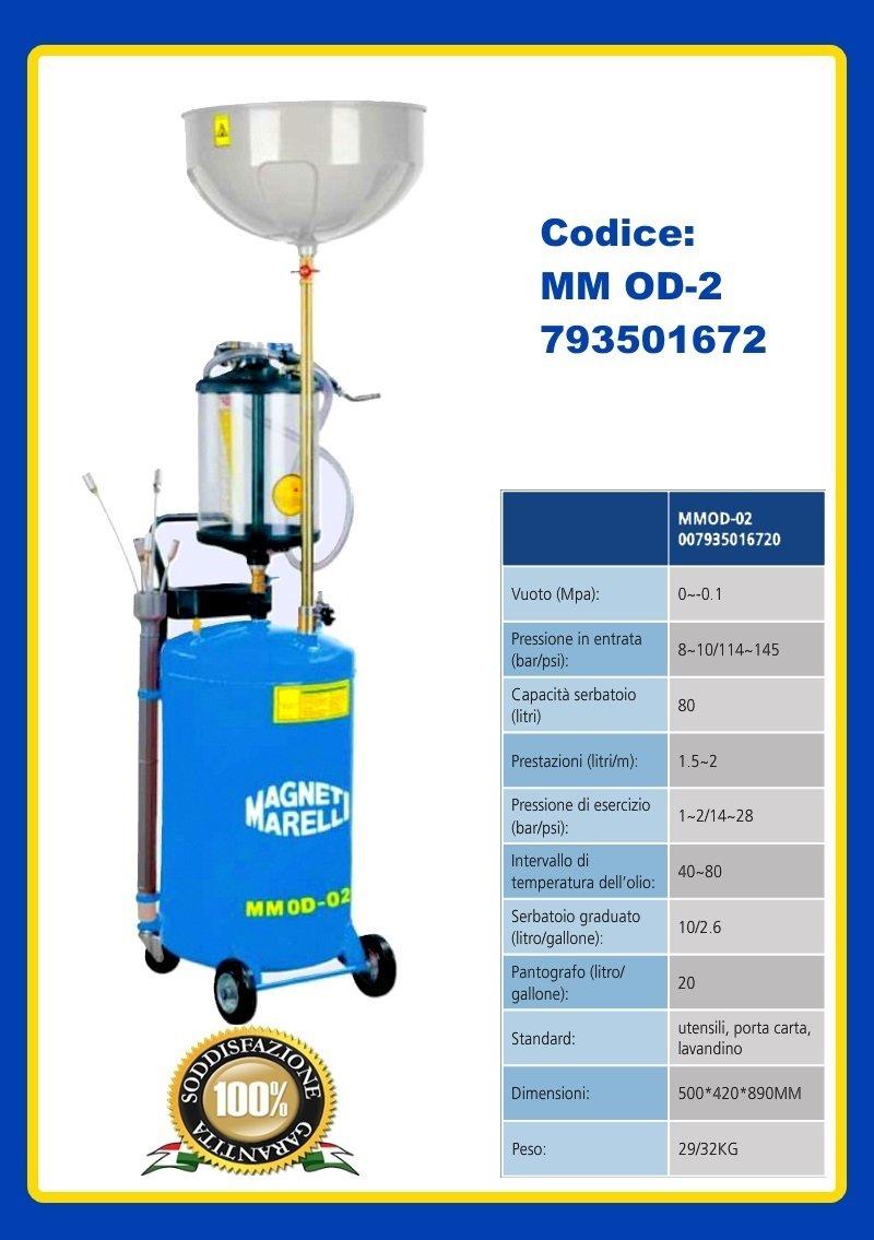Extractor de aceite para motor exhausto de automóvil, moto, camión o scooter. 80 litros: Amazon.es: Coche y moto