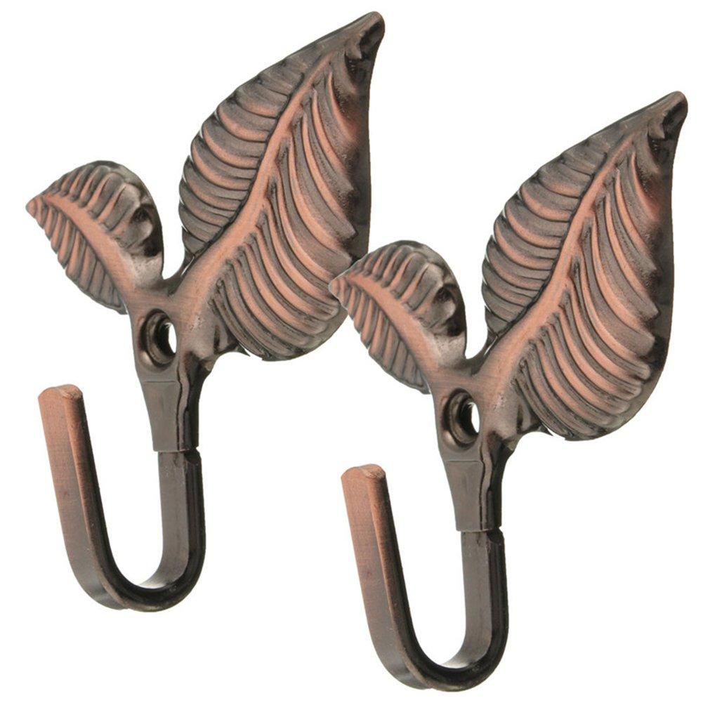 Freedi Curtain Holdbacks Wall Mounted Tieback Tassel Hanger for Draperies Decorative Vintage (Brown)