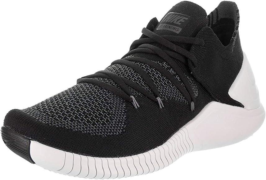 Nike Wmns Free TR Flyknit 3, Zapatillas de Running para Mujer, Negro (Black/White/Dark Grey 001), 38.5 EU: Amazon.es: Zapatos y complementos