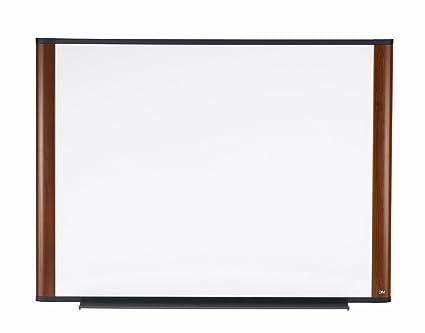 Amazon.com : 3M Dry Erase Board, 48 x 36-Inches, Widescreen Mahogany ...