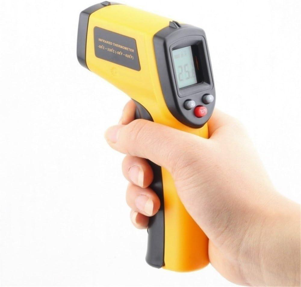 GS LCD láser Digital infrarrojos infrarrojos termómetro Handheld temperatura metros pistola -50 ~ 380 ℃ sin contacto termómetro