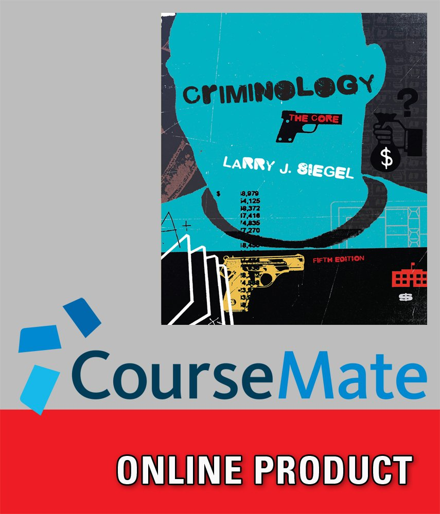 Amazon.com: CourseMate for Siegel's Criminology: The Core, 5th Edition:  Software