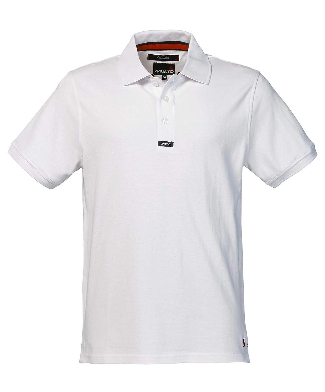 Musto Team piqué polo short sleeve Blank Plain shirt RALA MU005