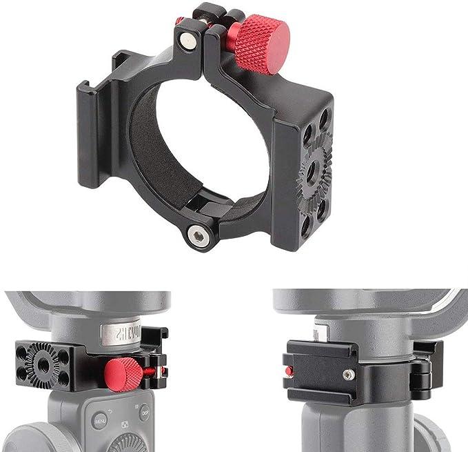 Blitzschuhadapter Ringhalterung für Zhiyun Smooth 4 to  Mikrofon LED