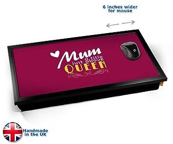 KICO Mamá la Reina de la tipografía Bandeja de Ordenador portátil: Amazon.es: Hogar