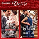 The Baby Inheritance & A Little Surprise for the Boss Audiobook by Maureen Child, Elizabeth Lane Narrated by Gabrielle Cendese, Hollis McCarthy