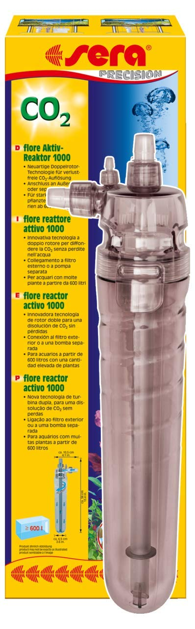 Sera Flore Active CO2 Reactor 1000 - Large Over 160 Gal by Sera USA