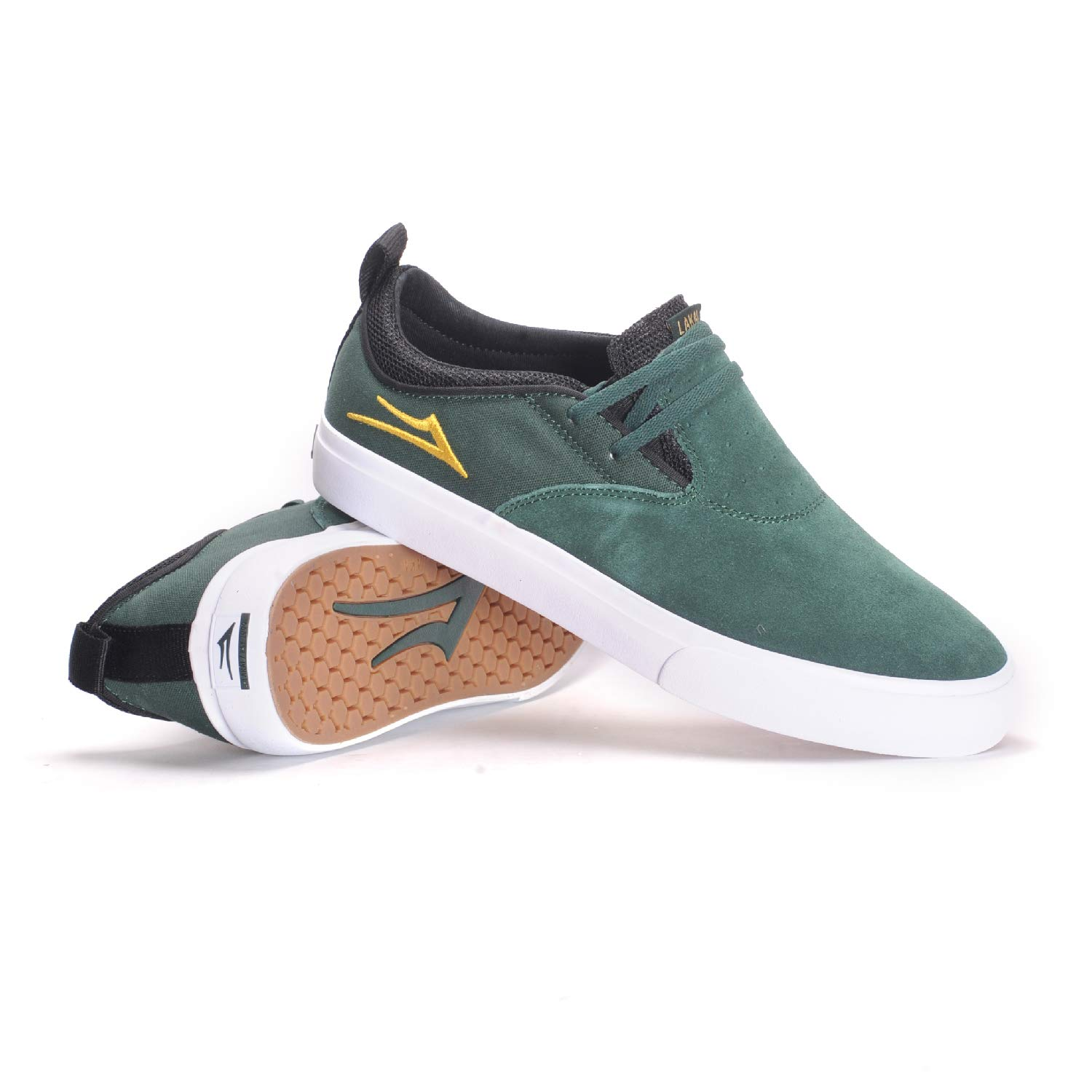 Lakai Men's Riley 2, Pine Suede, 12 M US