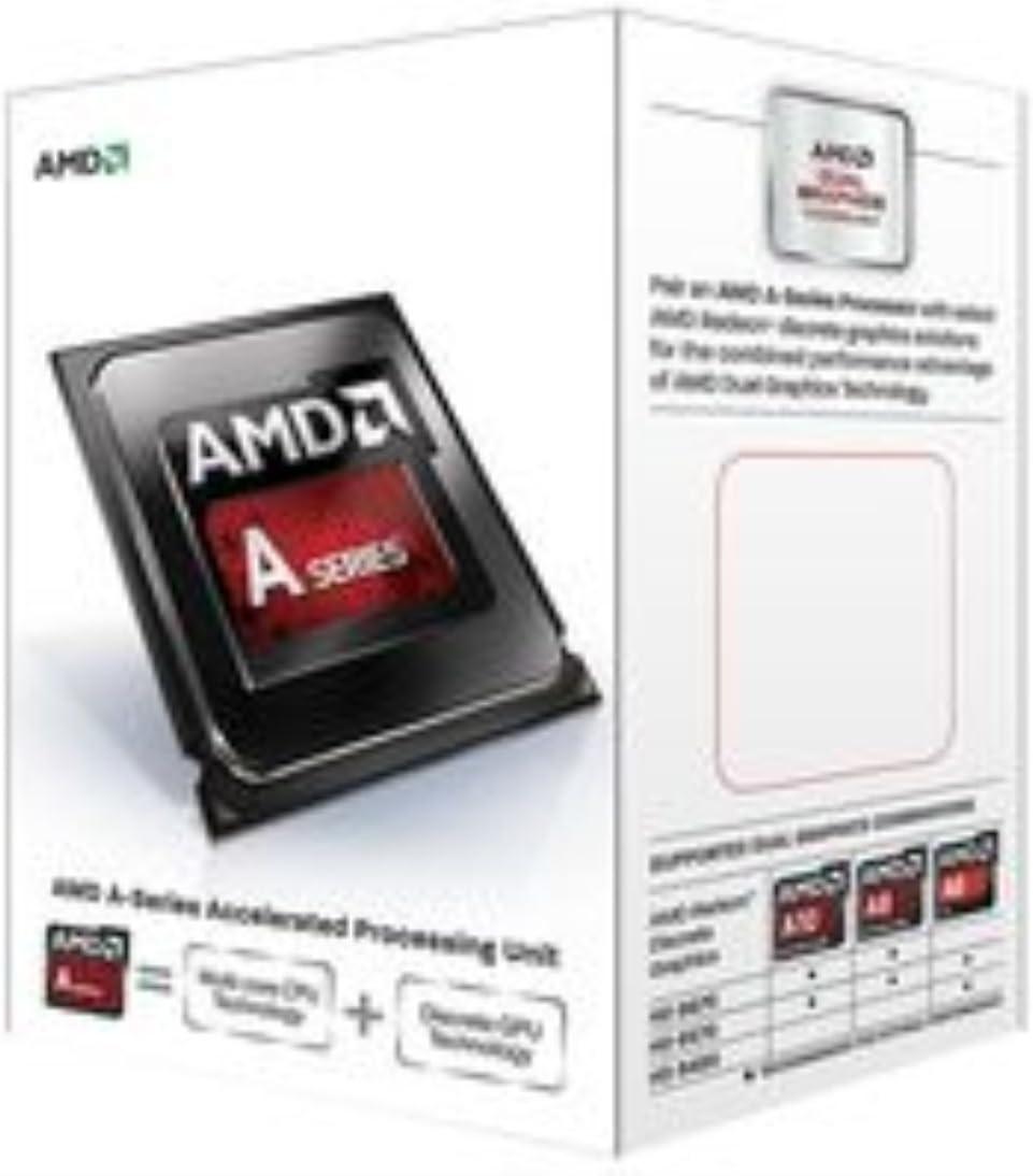 AMD A6-6400K Procesador 3.9 GHz, FM2, Radeon HD 8470D, DDR3-SDRAM