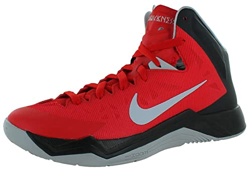 more photos 8d12f b5ba1 Nike Zoom Hyperquickness Mens Basketball Shoes Red Size 12  Buy Online at  Low Prices in India - Amazon.in