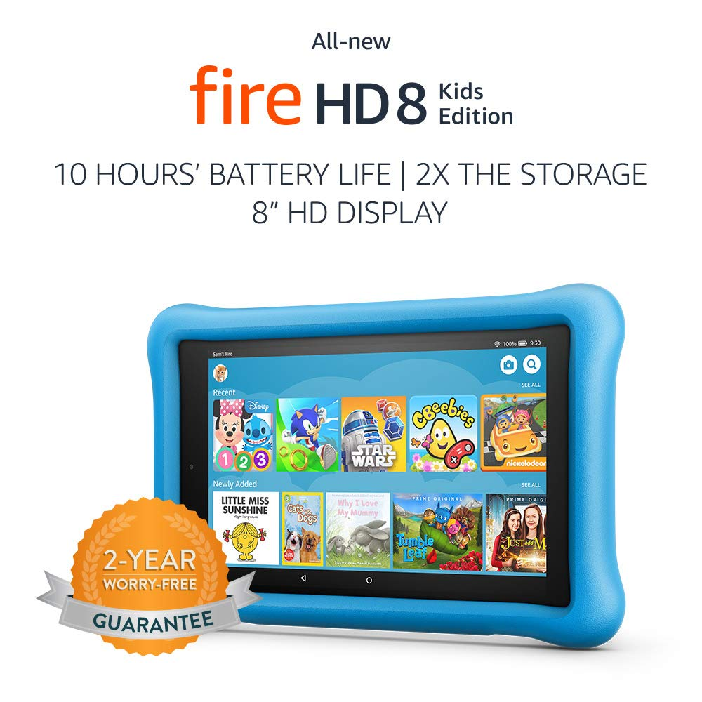 The All-New Fire HD 8 Kids Edition Tablet travel product recommended by Segilola Salami on Lifney.
