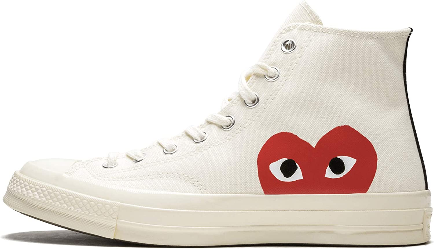 Converse Chuck 70 CDG Play (MilkWhite High Risk Red,8)