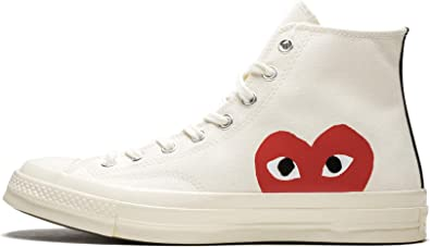 Converse Chuck 70 CDG Play (Milk/White-High Risk