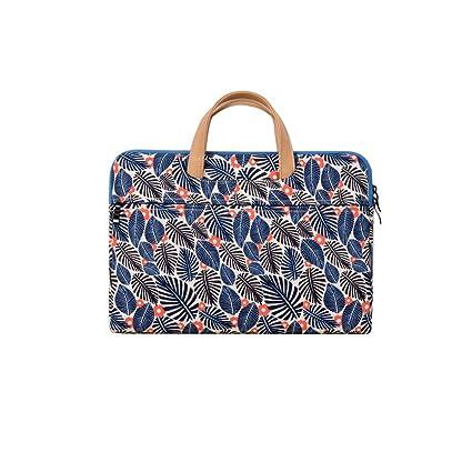 cc61cafdd1c2 Amazon.com: Literary Style Small Fresh Laptop Bag Printing Handbag ...