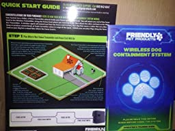 Amazon Com Friendly Pet Products Wireless Dog Fence