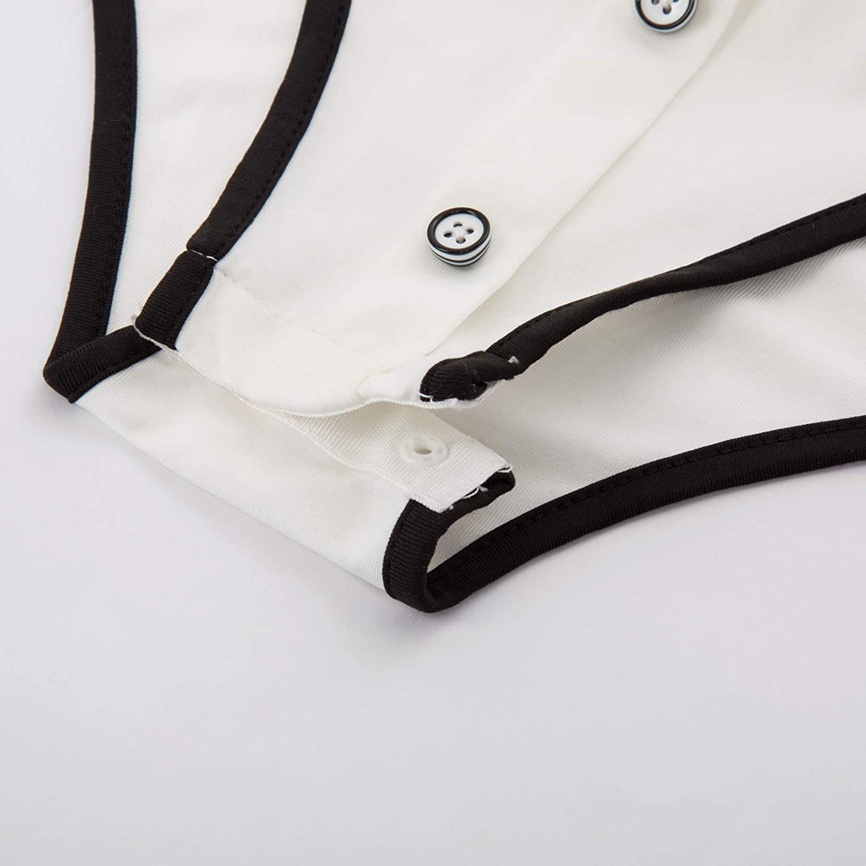 ABDL Button Crotch Adult Baby Onesie Bodysuit SCARLET DARKNESS Adult Baby Diaper Lover