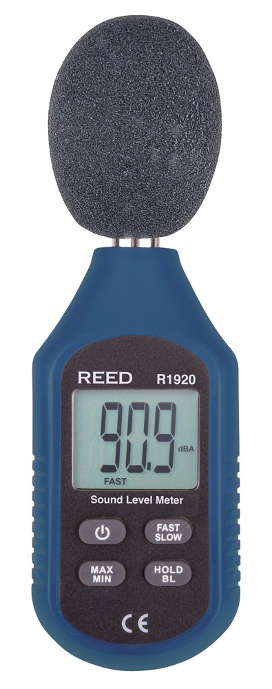 REED Instruments R1920 Sound Level Meter, Compact Series by REED Instruments