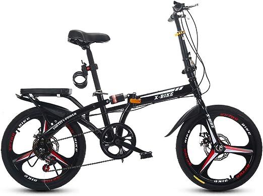 YCHSG Bicicleta Plegable Bicicleta de Adulto pequeña Bicicleta de ...