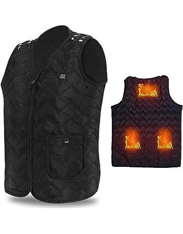 Vinmori Electric Heated Vest, Washable Size Adjustable USB Charging Heated  Polar Fleece Clothing Winter Warm d9d6cc24c7