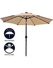 Patio Umbrellas Amazon Com