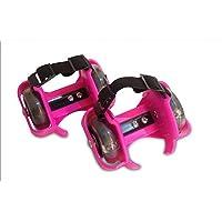 Nouveau Patins à roulettes clignotant tailles réglable LED Rose