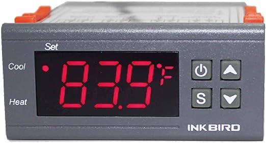 Dc Inkbird Dual Stage 12V Digital Temperature Controller Fahrenheit Thermostat