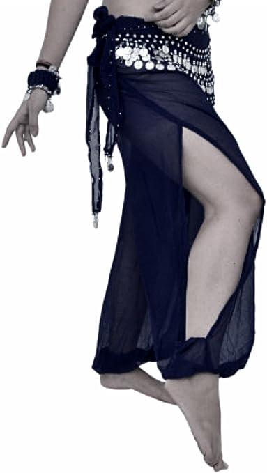 Belly Dance Harem Pants for Dancing Tribal Dancer Costume Yoga New M L XL