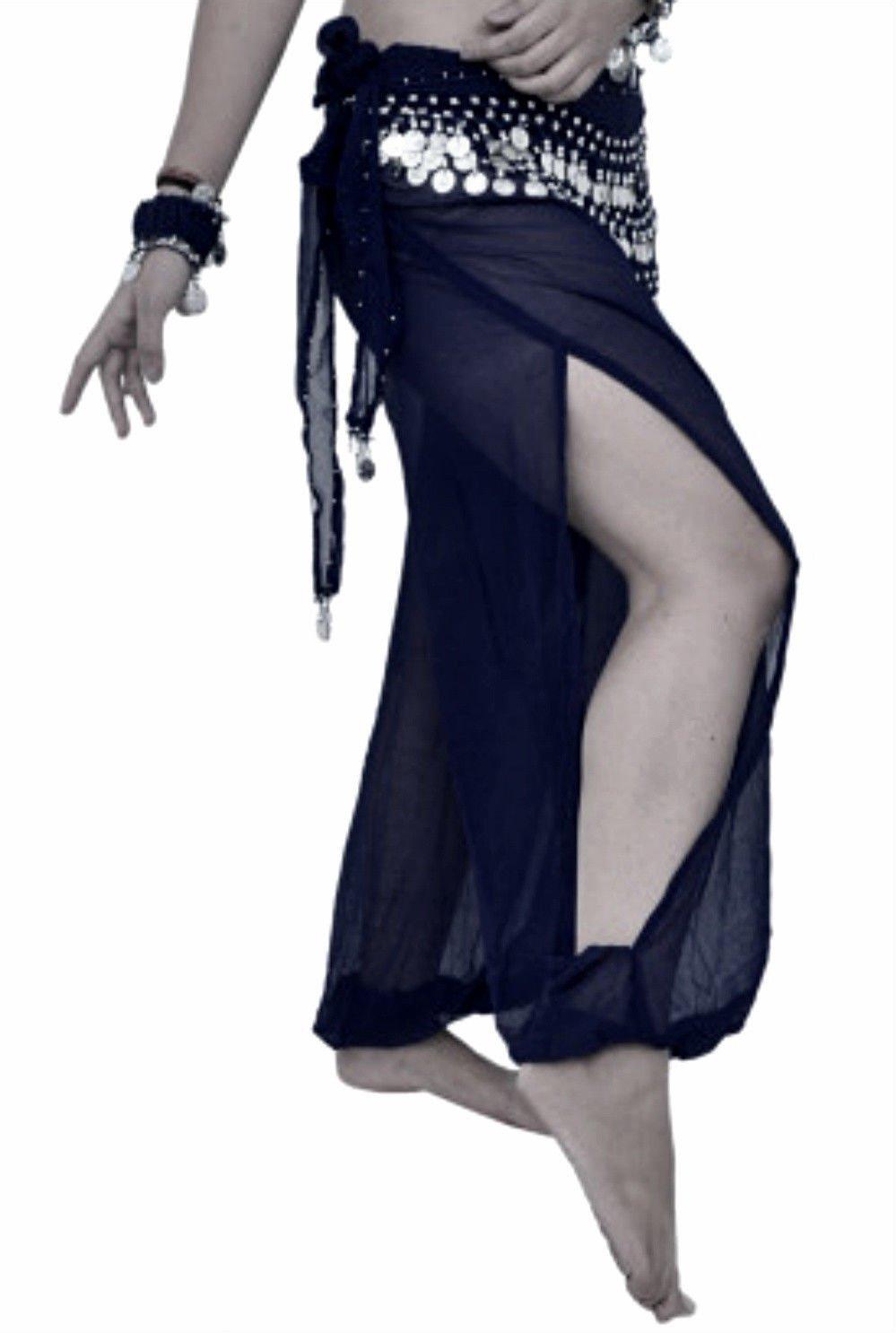 ベリーダンスハーレムパンツダンス部族ダンサー衣装ヨガに新しいファンシードレスS / M L XL XXL ブラック