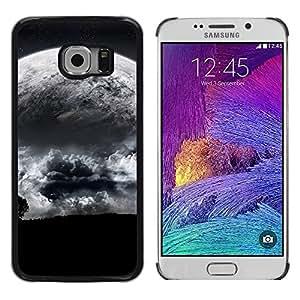 TopCaseStore / la caja del caucho duro de la cubierta de protección de la piel - Space Planet Galaxy Stars 15 - Samsung Galaxy S6 EDGE SM-G925