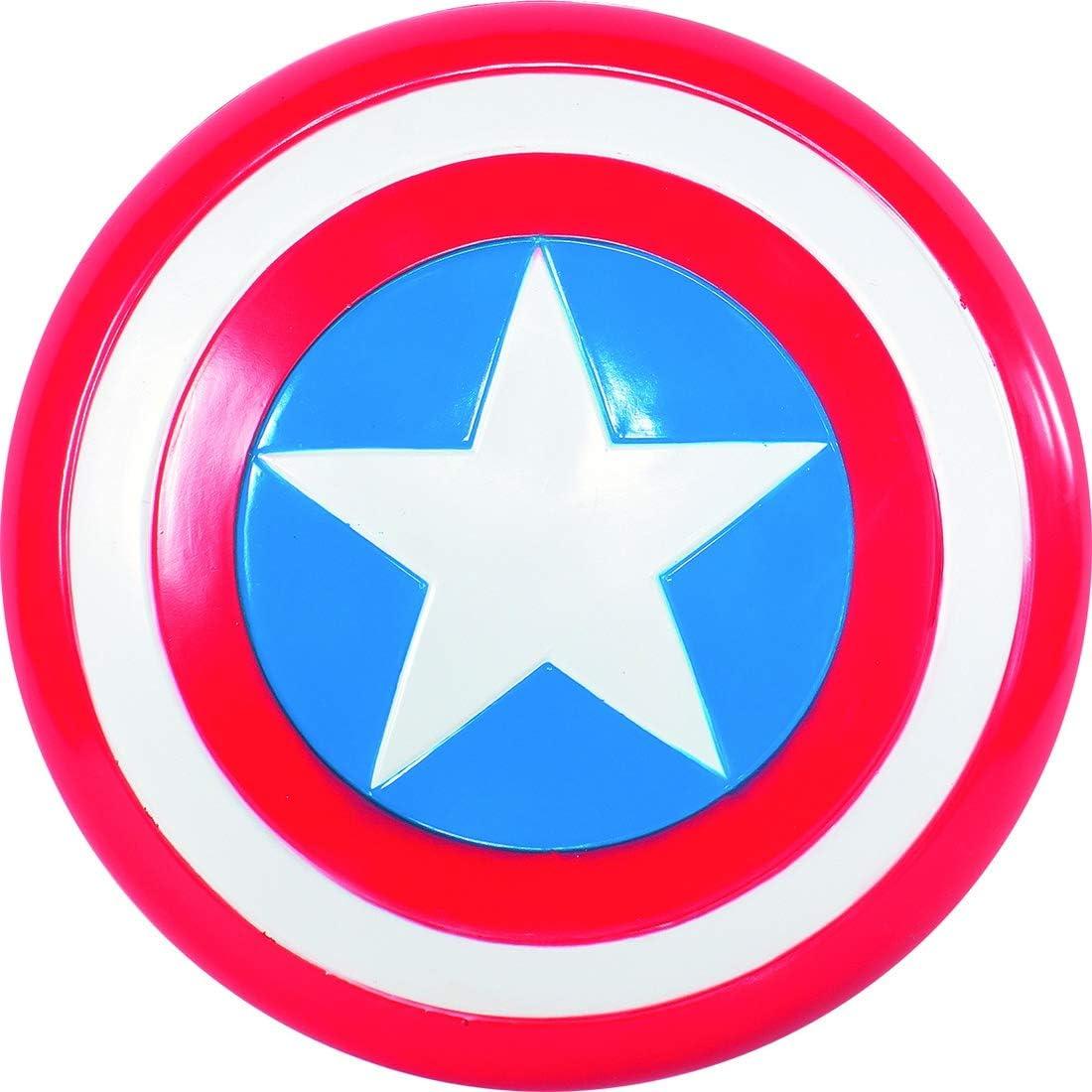 Fancy Ole – Disfraz Accesorios Niños Capitán America Escudo de ...