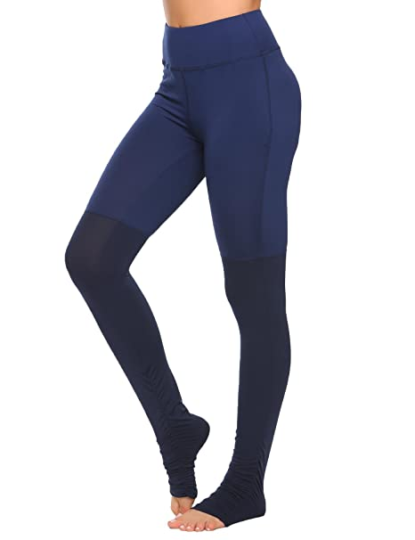 a52bf26fd2 Amazon.com: COORUN Women's Workout Leggings Running Tights Yoga ...