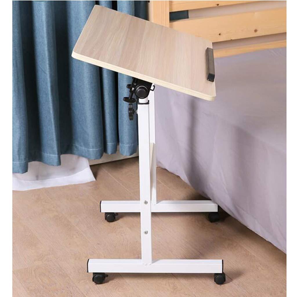 シンプルなラップトップデスク/ベッドサイドテーブル/モバイル学生用デスク/実用的な折りたたみ式テーブル,2 B07SX1K5R1 2