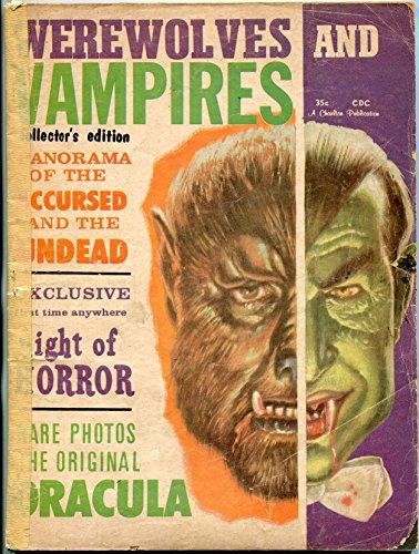 Werewolves and Vampires Magazine Issue 1 1962- Short Stories- Costume -