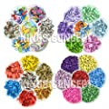 Assorted Painting Acrylic Brads, Paper Flower For Scrapbook, Scrapbooking Embellishments