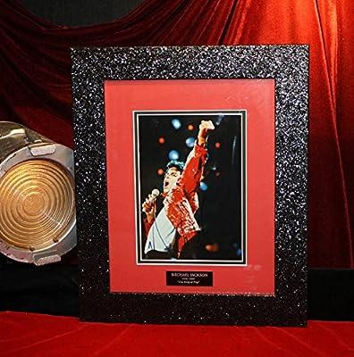 BEST Signed MICHAEL JACKSON Original Autograph, COA, Opus BOOK, DVD, UACC, Frame