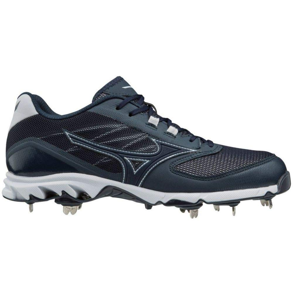 (ミズノ) Mizuno メンズ 野球 シューズ靴 Mizuno 9-Spike Dominant IC Metal Baseball Cleats [並行輸入品] B07HMQNYLT 10.5-Medium