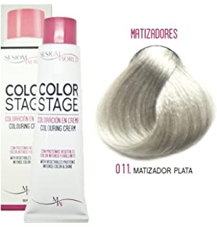 sesioMWorld TINTE EN CREMA COLOR STAGE REF. 011 - MATIZADOR PLATA 100ml