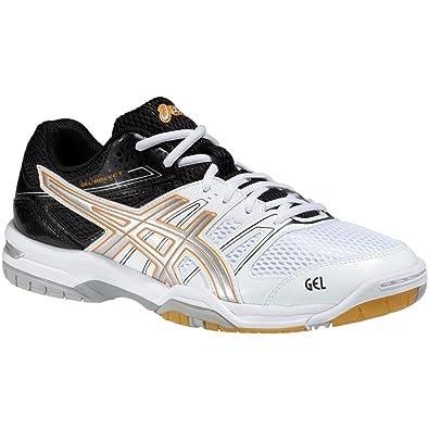 ASICS Men s Gel-Rocket 7 Shoes White Size  14  Amazon.co.uk  Shoes ... 68eabc7533cf7