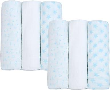 BabyTown Newborn Baby Muslin Cloth /& Elephant Comforter Set