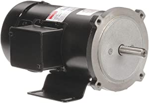 DC Motor, PM, TEFC, 3/4 HP, 1750 RPM, 180VDC