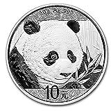 2018 CN Chinese Panda 30 Gram Silver Coi