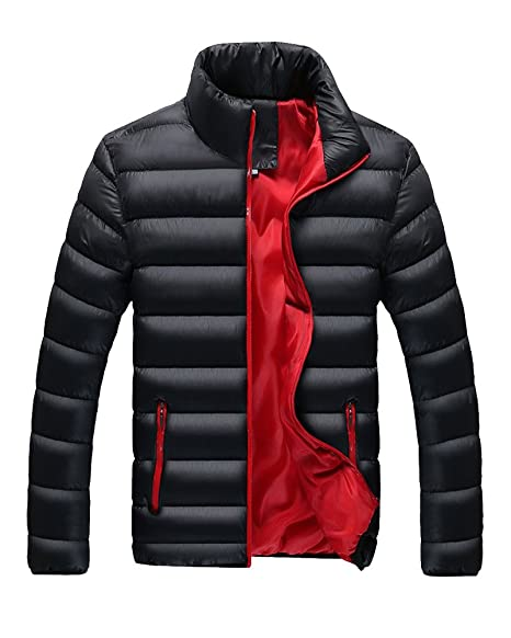 2ae2c25ee46f LaoZan Herren Steppmantel Oberbekleidung Winterjacke Jacke Steppjacke  Sportjacke Warme Mantel  Amazon.de  Bekleidung