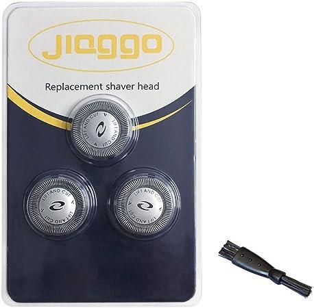 Jiaggo - 3 cabezales de afeitado de recambio para Philips HQ6900 ...