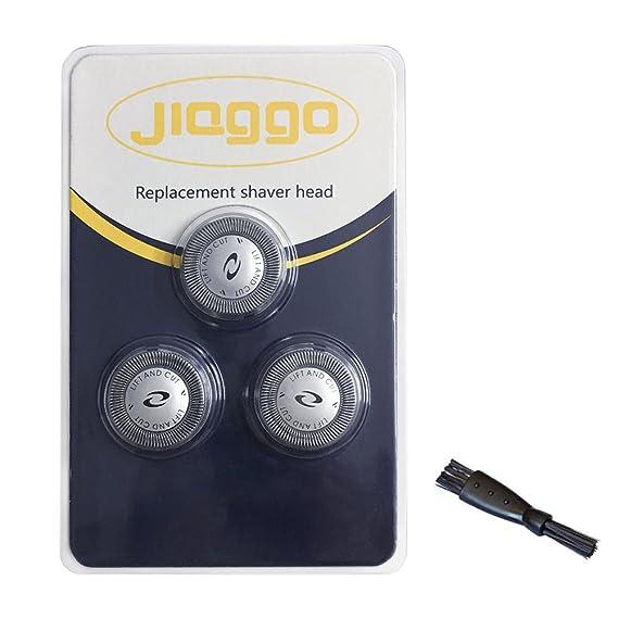 Jiaggo 3 Cabezales de afeitado HQ6 para Philips Afeitadora HQ6426 HQ7830 HQ7850 HQ7885 con Cepillo: Amazon.es: Salud y cuidado personal