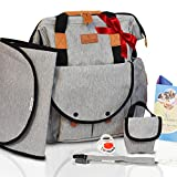 Diaper Bag Backpack for Girls & Boys |14 Pockets | Large Opening Design Baby Bag